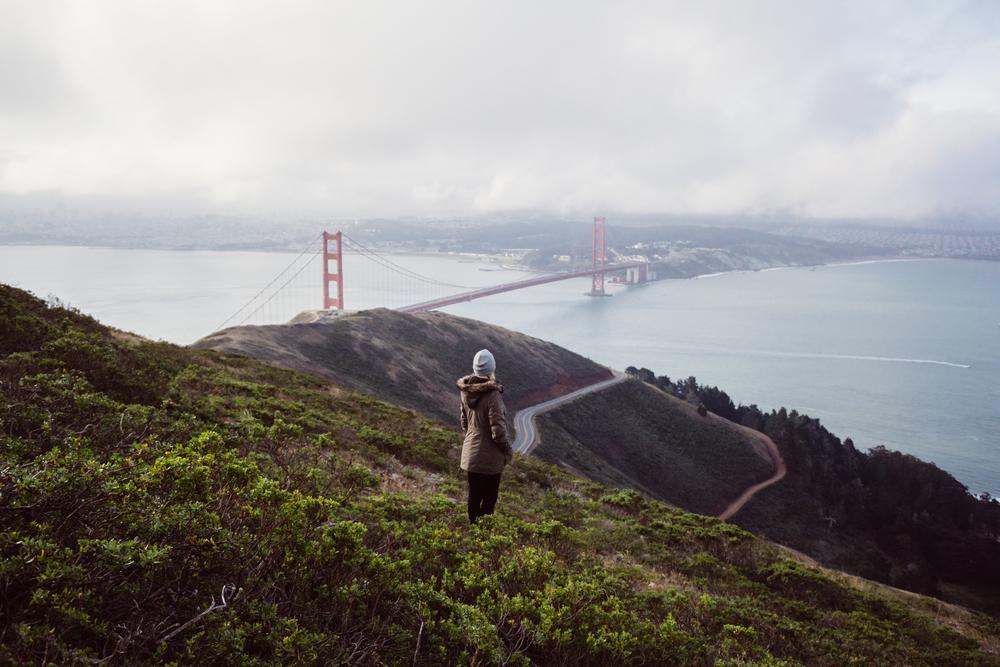 Kristine (@kristine_nicole) & The Golden Gate Bridgeby Catherine Alyce