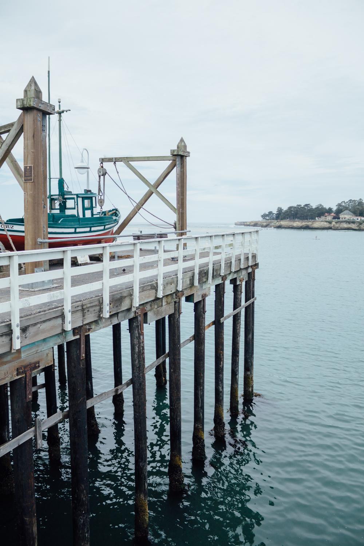 Santa Cruz Pier byCatherine Alyce