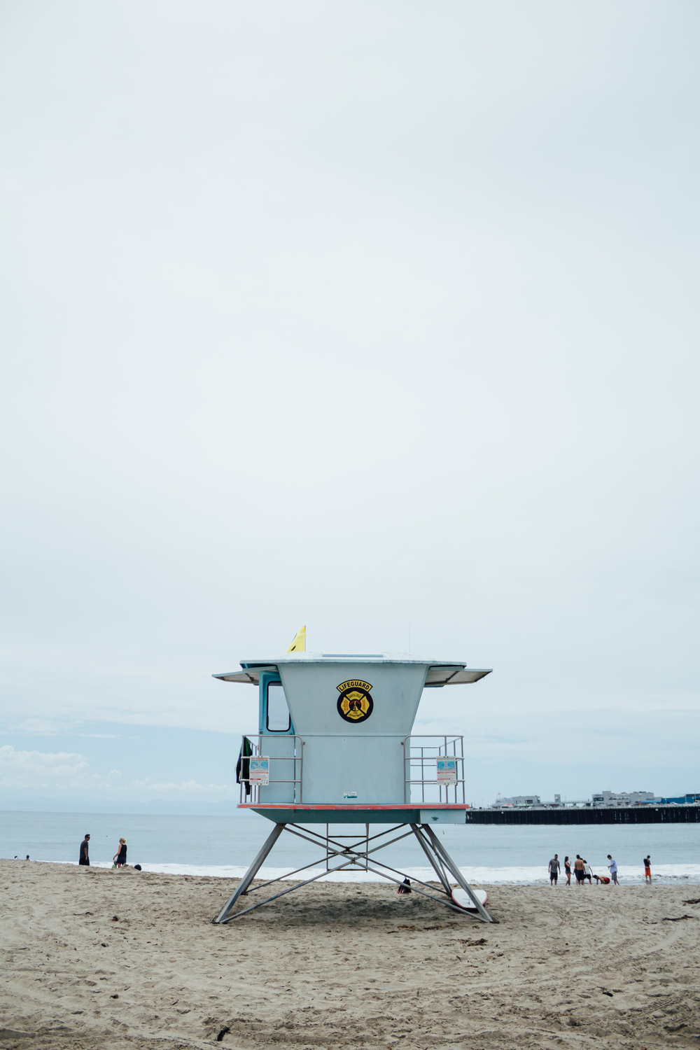 Lifeguard Stand by Catherine Alyce