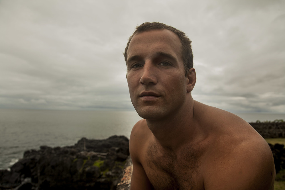 Surfer on the North Shore,2014