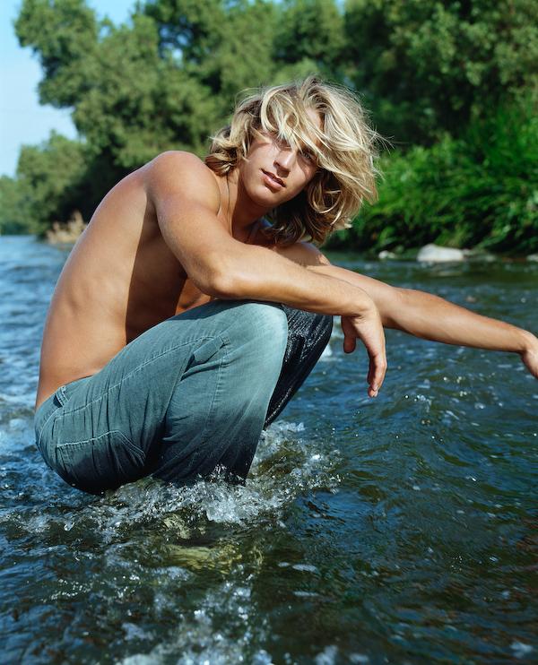 Model in the LA river,2013