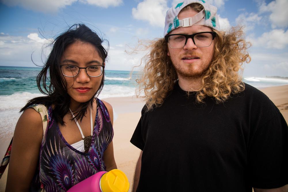 Couple North Shore Hawaii 2015