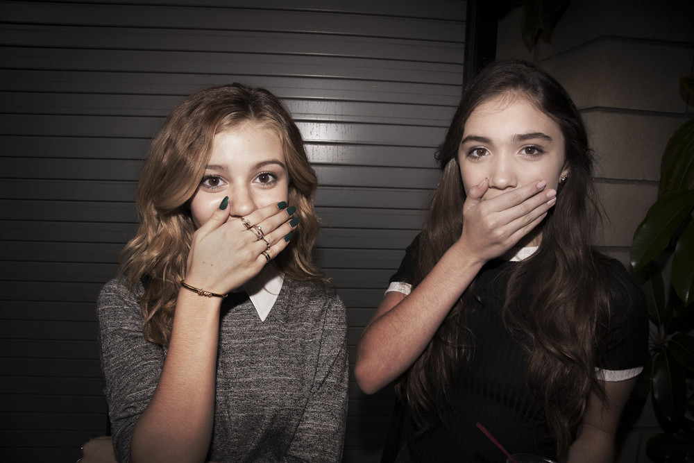 Teenagers at hollywood birthday party 2015