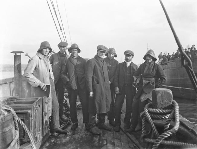 Survivors from the ill-fated schooner, MEXICO