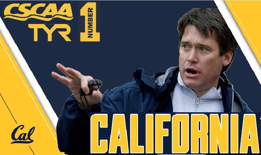 Cal Men Lead FInal CSCAA Poll