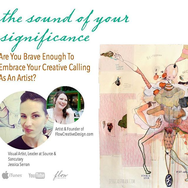 2 artists gabbing about why you should embrace your creative calling as a fine artist, writer, designer, photographer.  Please share and cut and paste the link to listen to this week's episode on The Sound Of Your Significance #SOYS  bit.ly/embracecreativecalling  #creativelife #creativelifeseries #alignwithyourart #flowcreative #overcomecreativeblock #artistsupport #creativeflow #artistlife #unleashyourart #masteringcreativity #creativeprocess  #artistdevelopment #artmentor #creativeart #creative #creativelife #consciouscreativity #artcollective  #freetraining #artsanity #artistsoninstagram  #quicksimpleeasy #boostcreativity #creativeinspiration #artinspiration #artistmentoringprogram #austinartist #austincreativitymentor #austinholisticarttraining