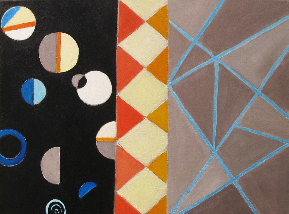 """Asteria, 2015, acrylic on canvas, 18 x 24"""""""