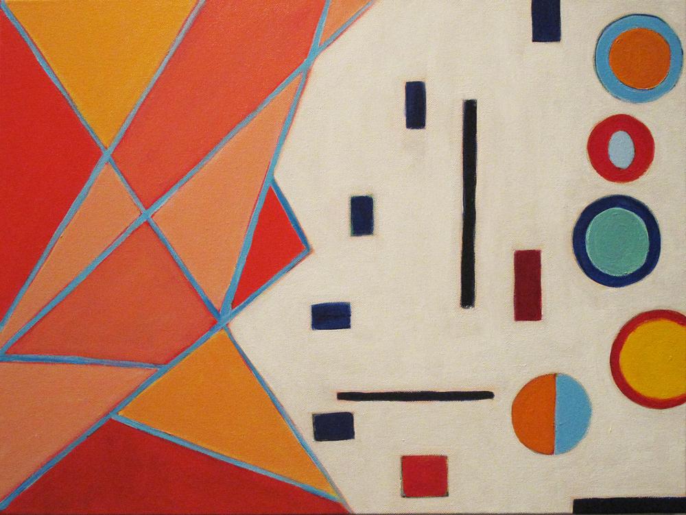 """Minerva, 2015, acrylic on canvas, 18 x 24"""""""
