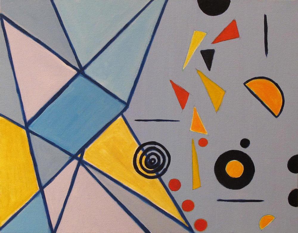 """Aura, 2014, acrylic on canvas, 16 x 20"""""""