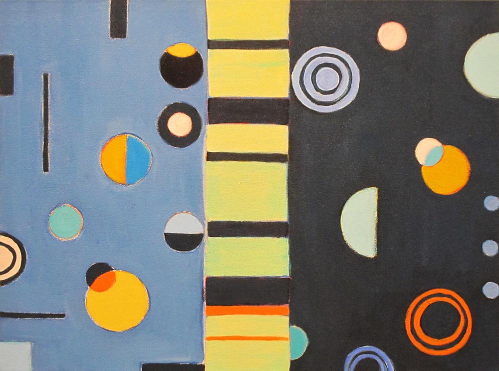 "The Journey, 2015, acrylic on canvas, 18 x 24"""