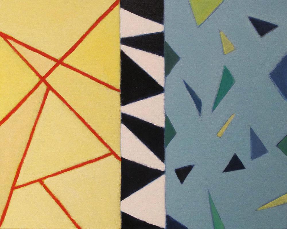 """Themis, 2014, acrylic on canvas, 16 x 20"""""""