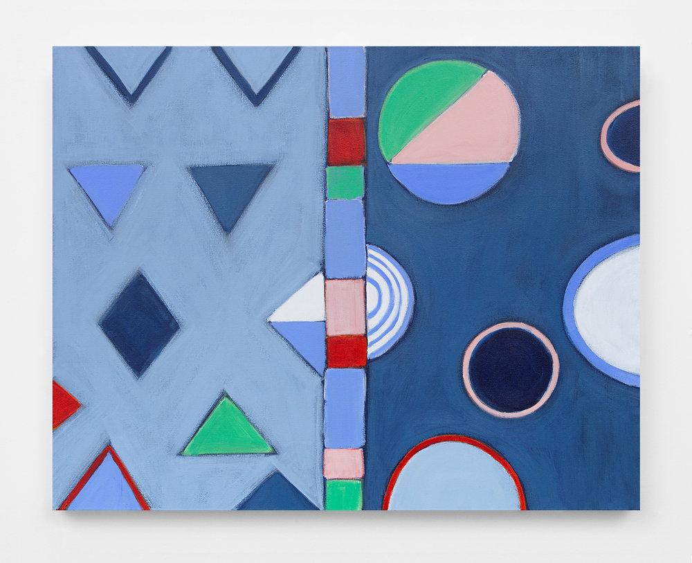 """Orion, 2016, acrylic on canvas, 24x30"""""""