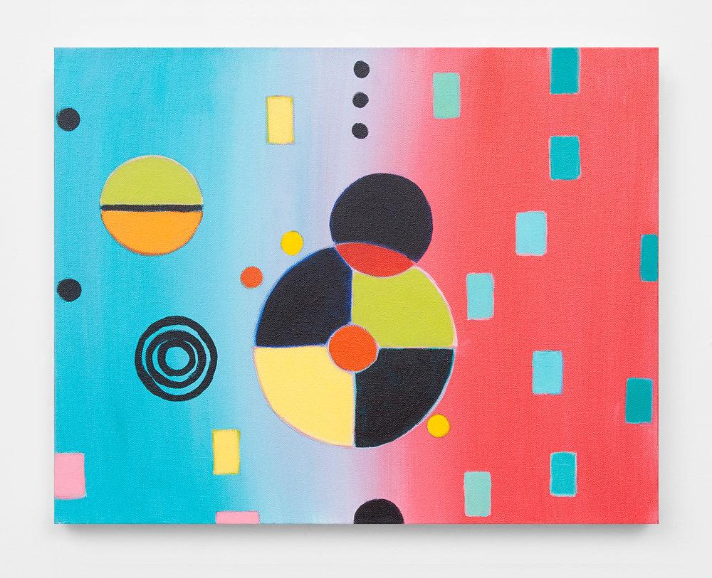 """Rhea, 2014, acrylic on canvas, 16 x 20"""""""