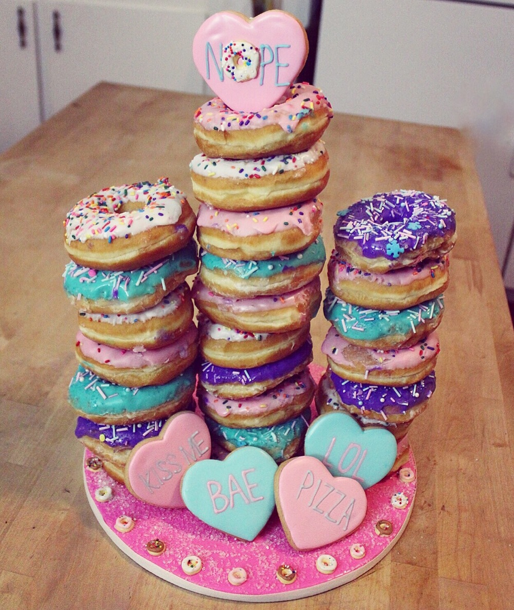 CONFECTION- donut tower.JPG