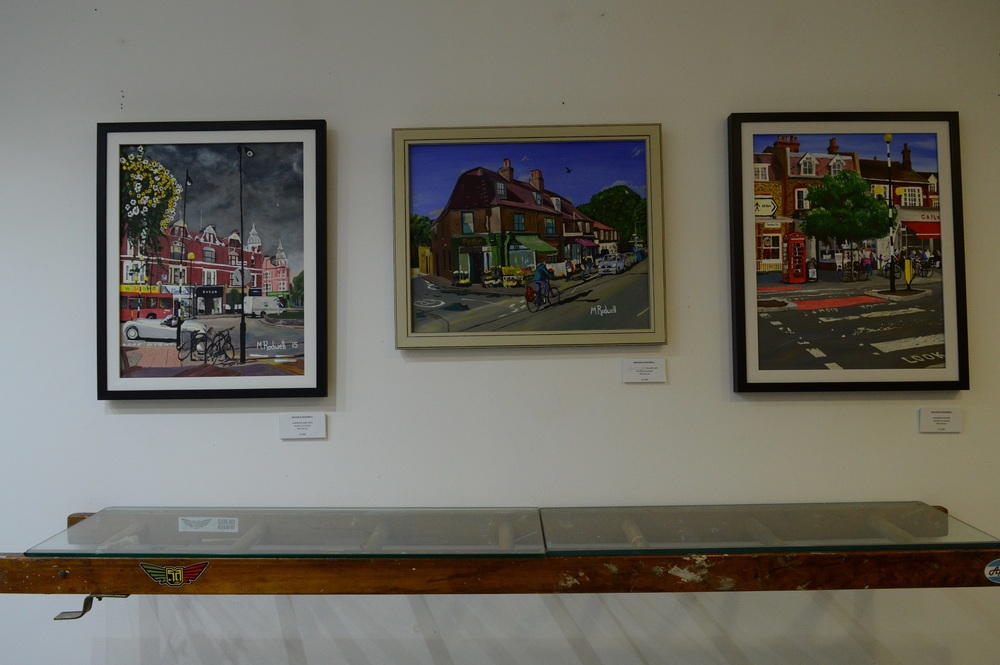 504 Gallery | London | paintings by M.Rodwel | Dulwich