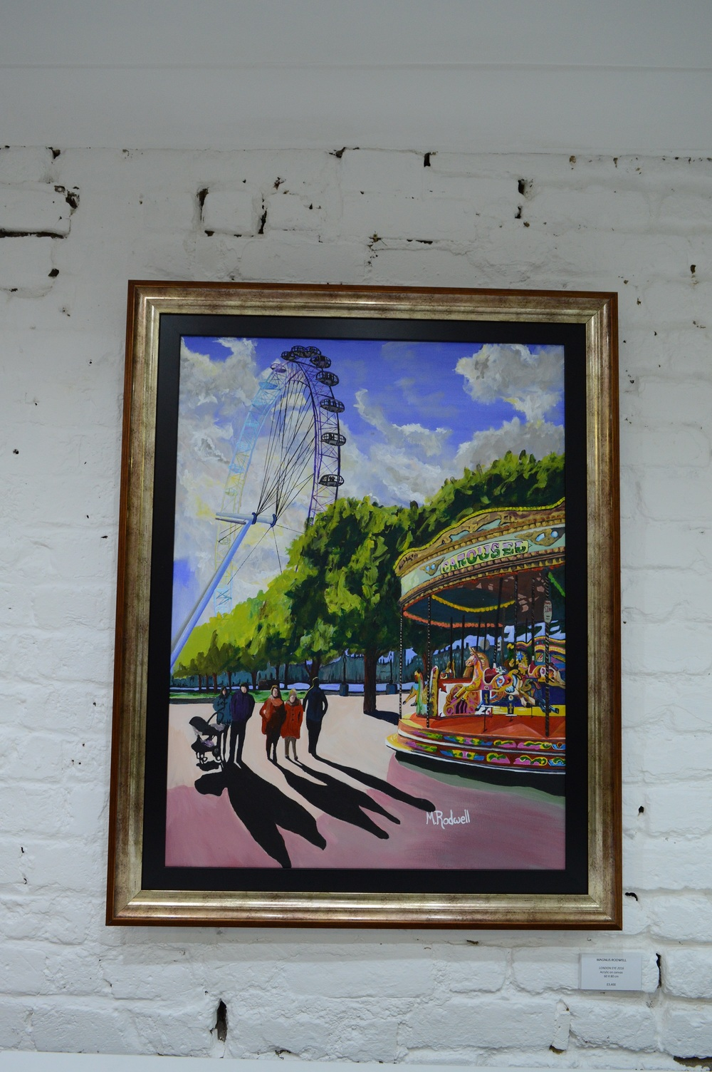 London Eye | 504 Gallery Event | Artist M.Rodwell