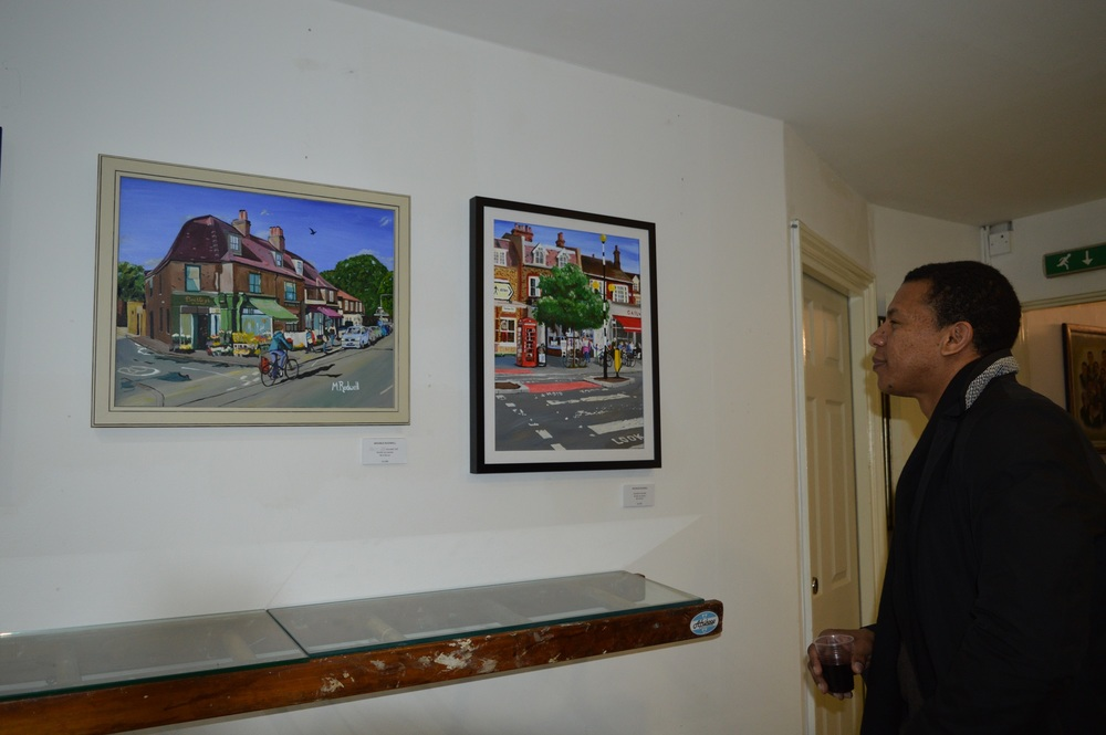 Artist M.Rodwell | Dulwich Paintings on Display | 504 Gallery