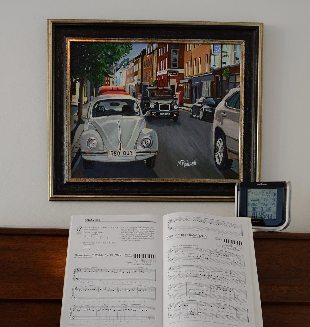 Bermondsey Beetle Painting | artist | M.Rodwell