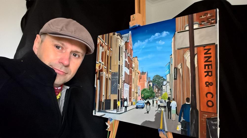 Bermondsey Street | Painting | Artist M.Rodwell