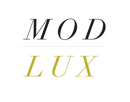 modlux brand board look 3 logo