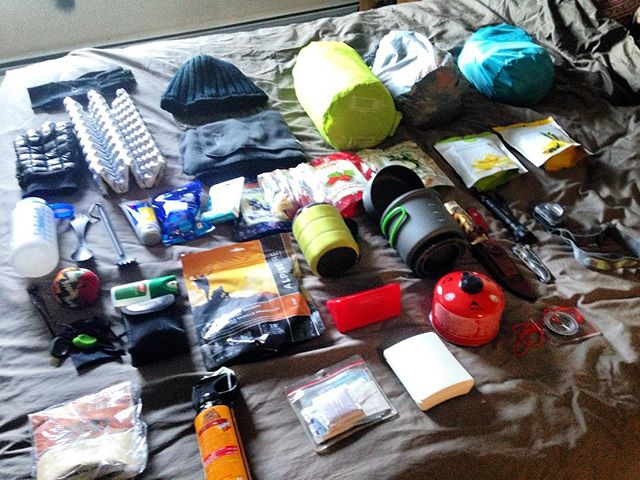 Thinking I'm pretty geared up for a #backcountry #adventure this weekend. Can't wait!