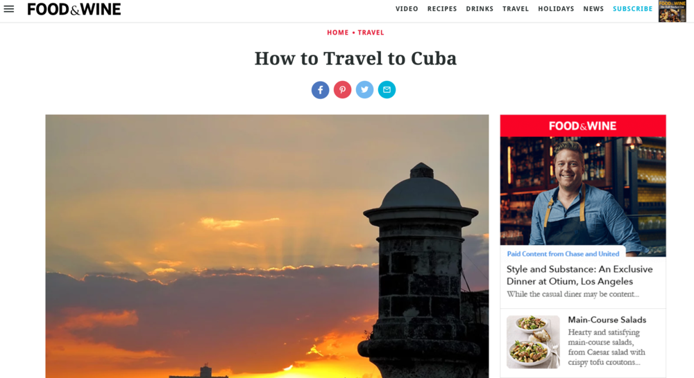 How to Travel to Cuba