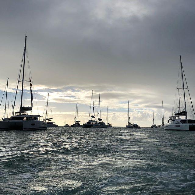 Sail away, sail away, sail away #theyachtweek #bvi #britishvirginisland #anegada