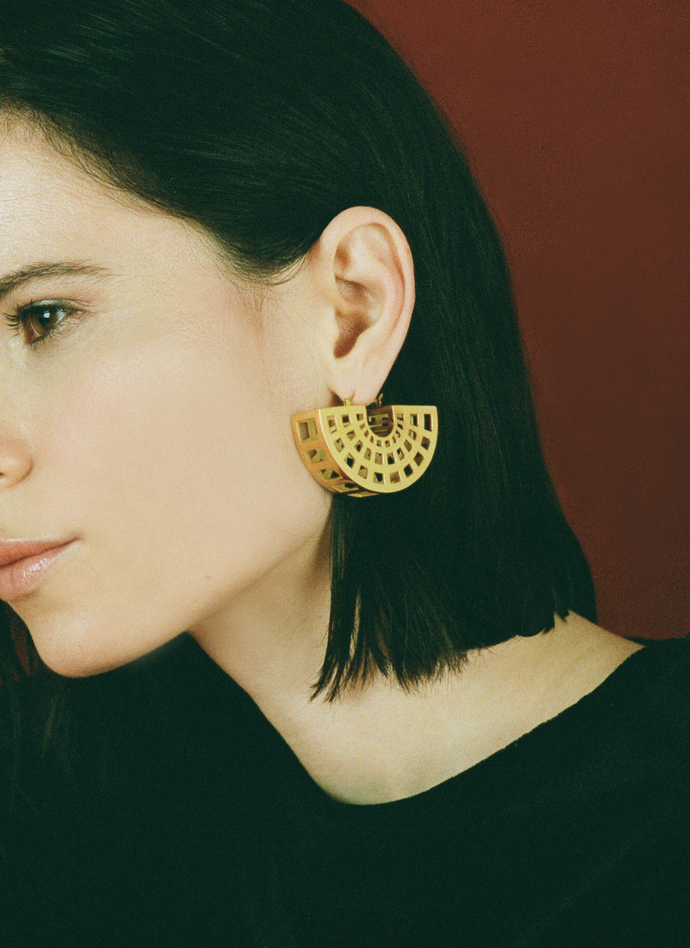 Cage Earring Wednesday Jewellery