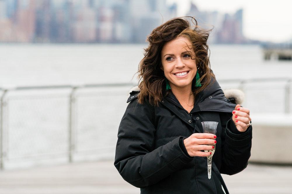 surprise Hoboken Engagement photoshoot photographer