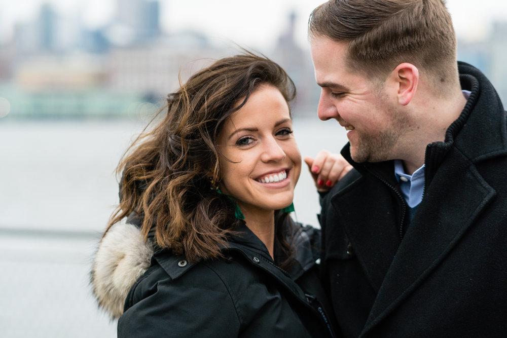 hoboken engagement photography