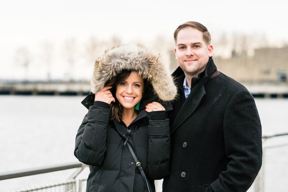 engagement photographer in hoboken