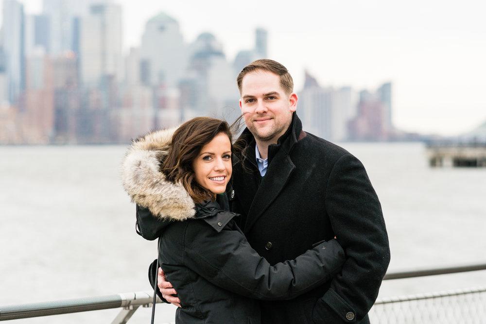 Hoboken surprise wedding proposal photographer