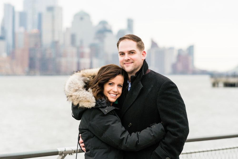 Hoboken surprise wedding proposal photos