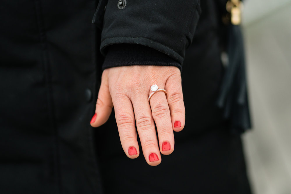 New Jersey engagement ring photos