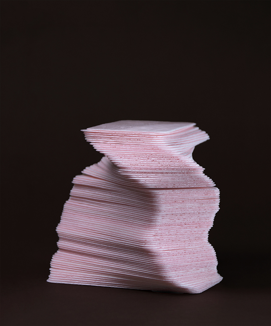 Pink Communion Wafer Tower