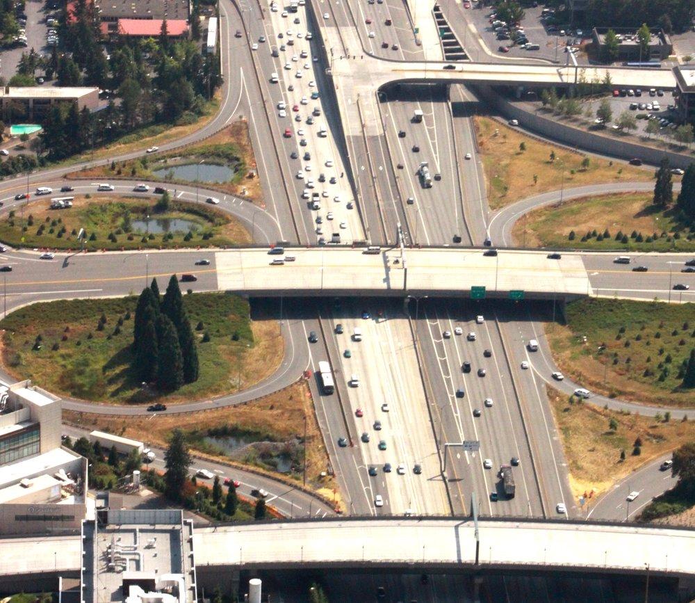 I-405 Bellevue Braids-Bellevue,WA