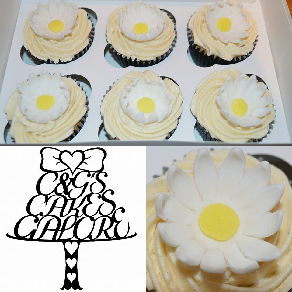Pretty Daisy Cupcakes