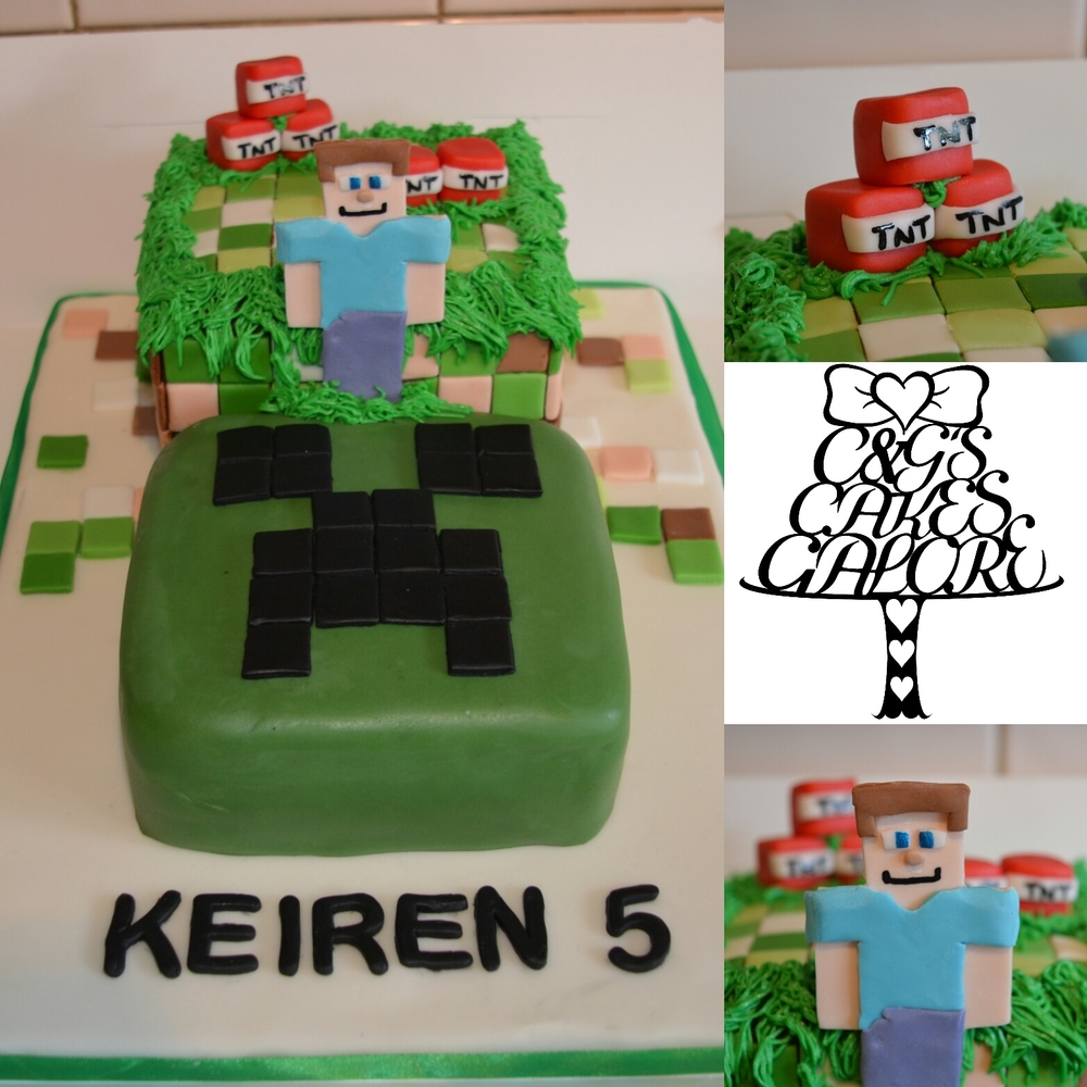 Minecraft level 2 cake