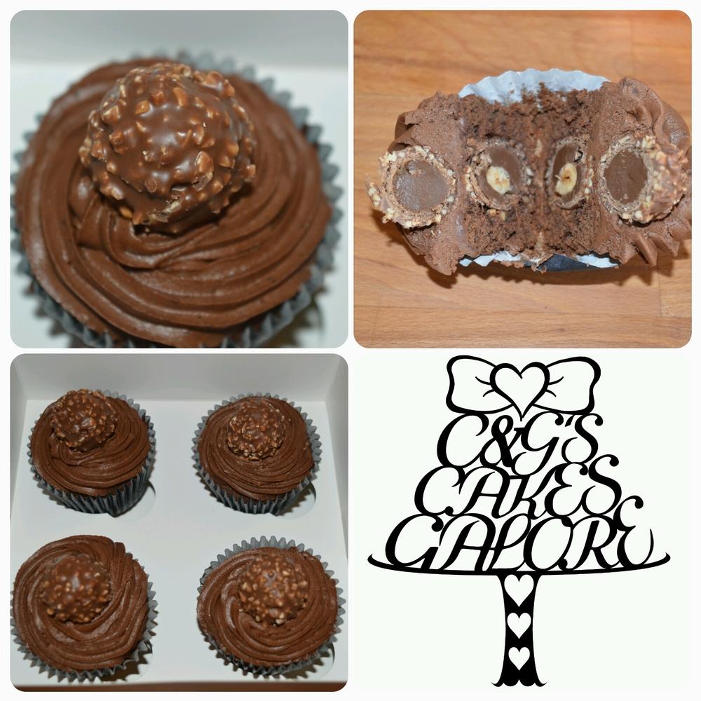 Ferror Roche Cupcakes