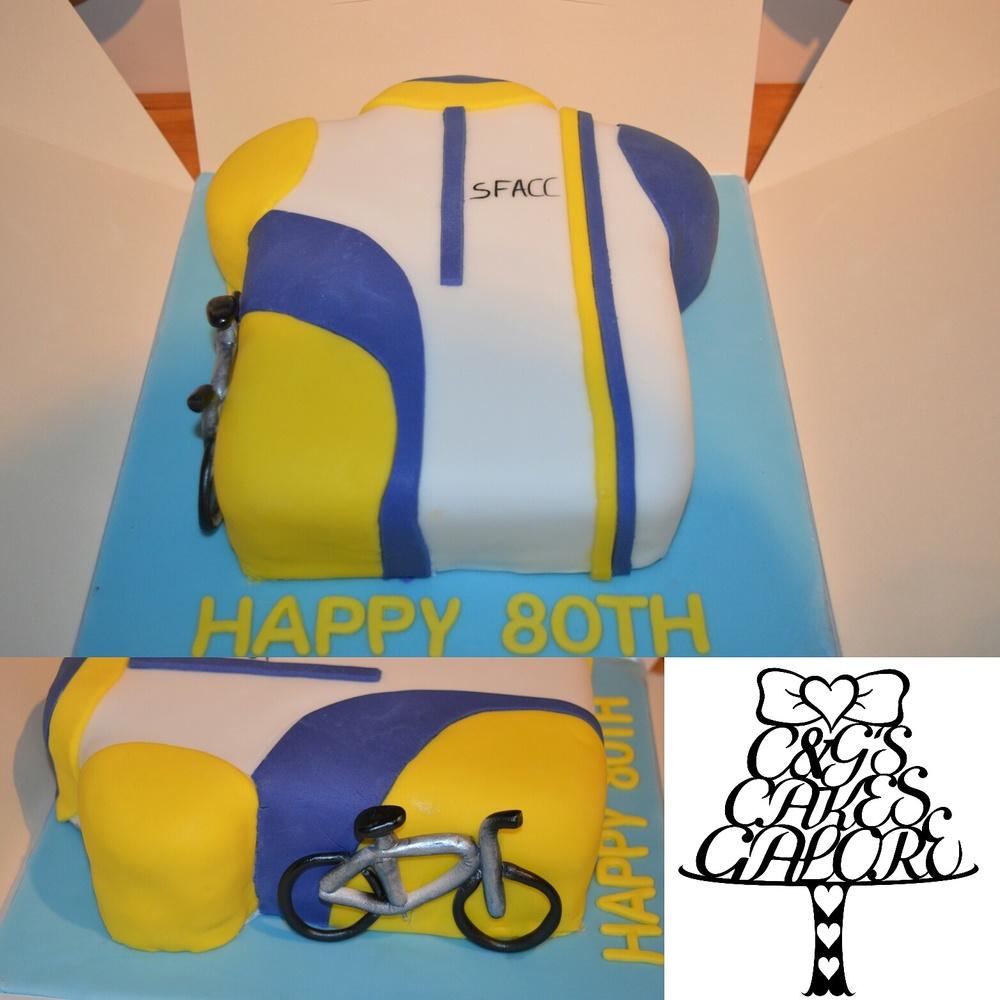 Cycling Jersey Cake