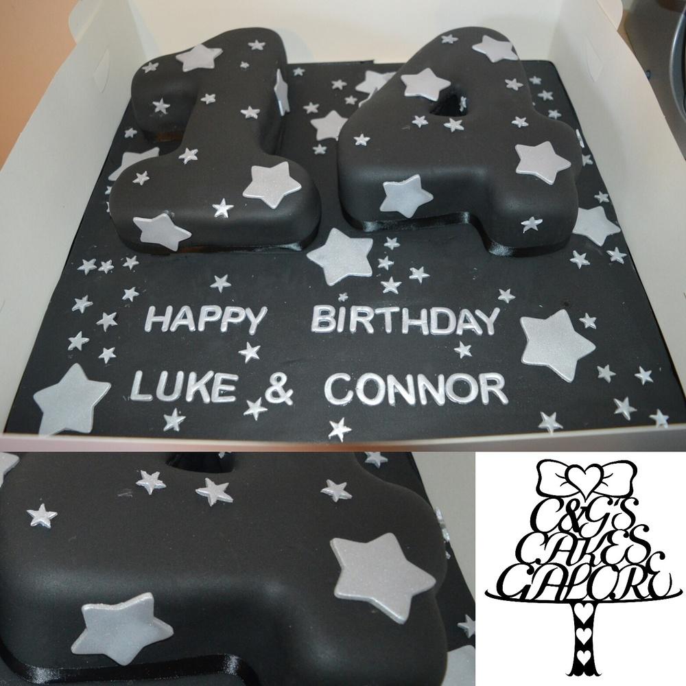Star Number Cake