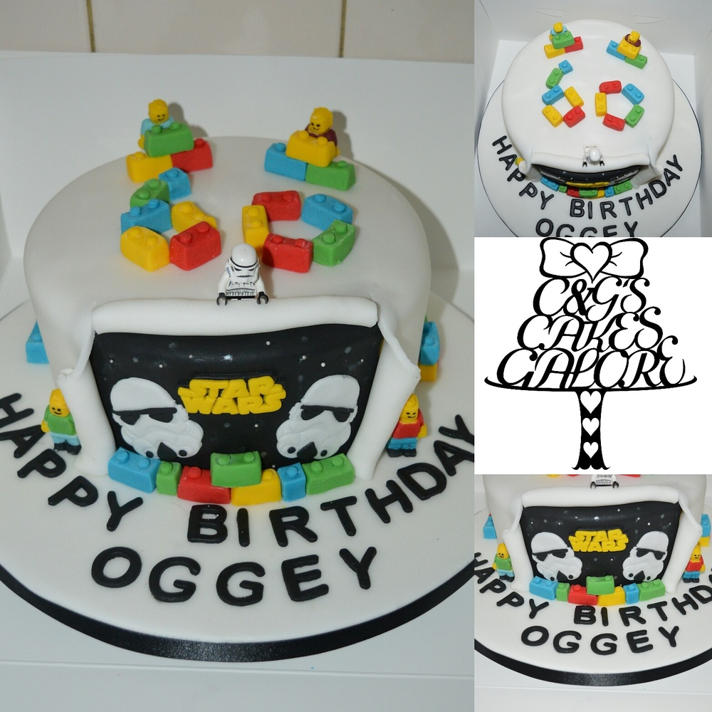 Star wars versus Oego cake