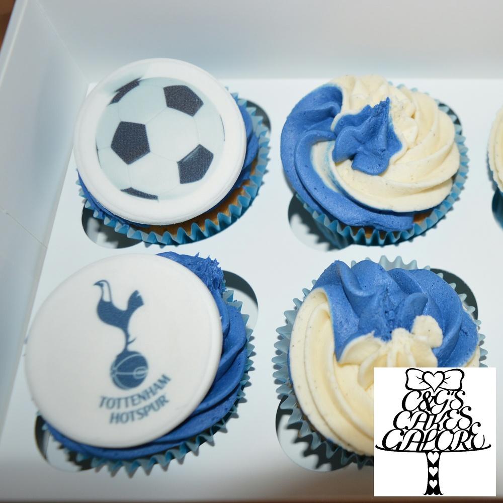 Tottenham cupcakes