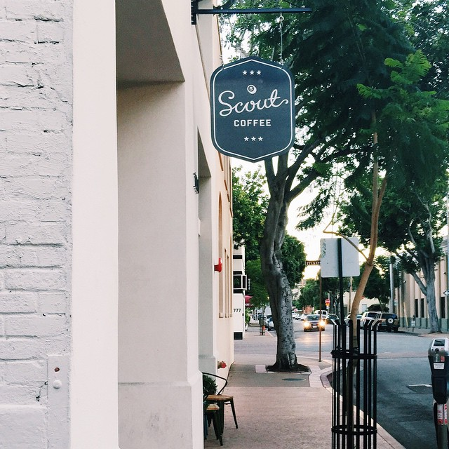 A local gem ☕️ @scoutcoffee #happycoffee #SLOlife #sanluisobispo #centralcalifornia #supportsmallbusiness #cultkintravels