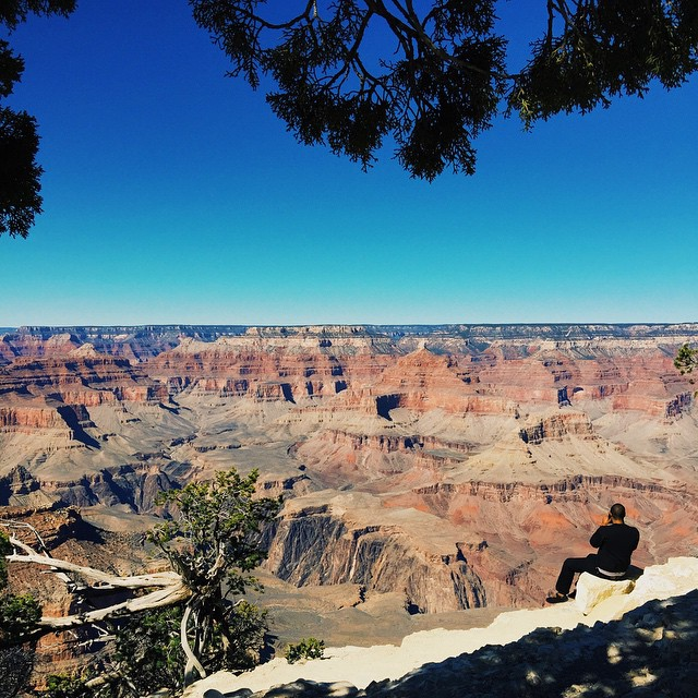 Look at everything always as though you were seeing it either for the first or last time. Thus is your time on earth filled with glory. - Betty Smith #grandcanyon #crosscountryroadtrip #cultkintravels