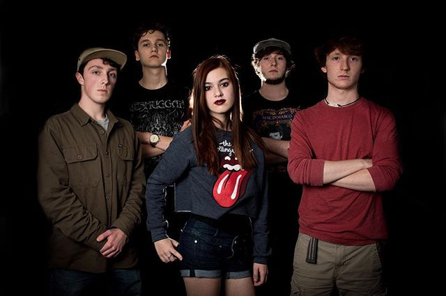 Remain nameless' official picture of the band. Come see us on June fifth at the Trocadero! It'll be a good time