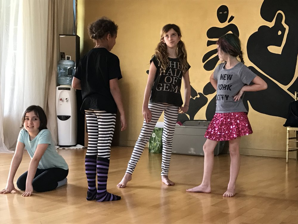 Little Girl Group - Designed for girls ages 7-11, our LITTLE GIRL GROUP is ongoing & meets once a week. We structure each session around a theme & try to provide an action component, a writing component & a discussion component. Each session begins with a ritual to land us in the space & we weave mindfulness techniques throughout.