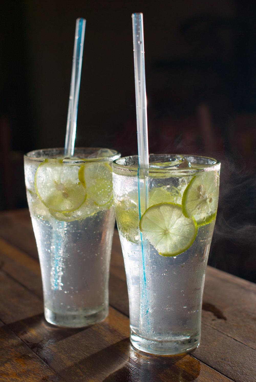 Vodka & soda, Vientiane, Laos