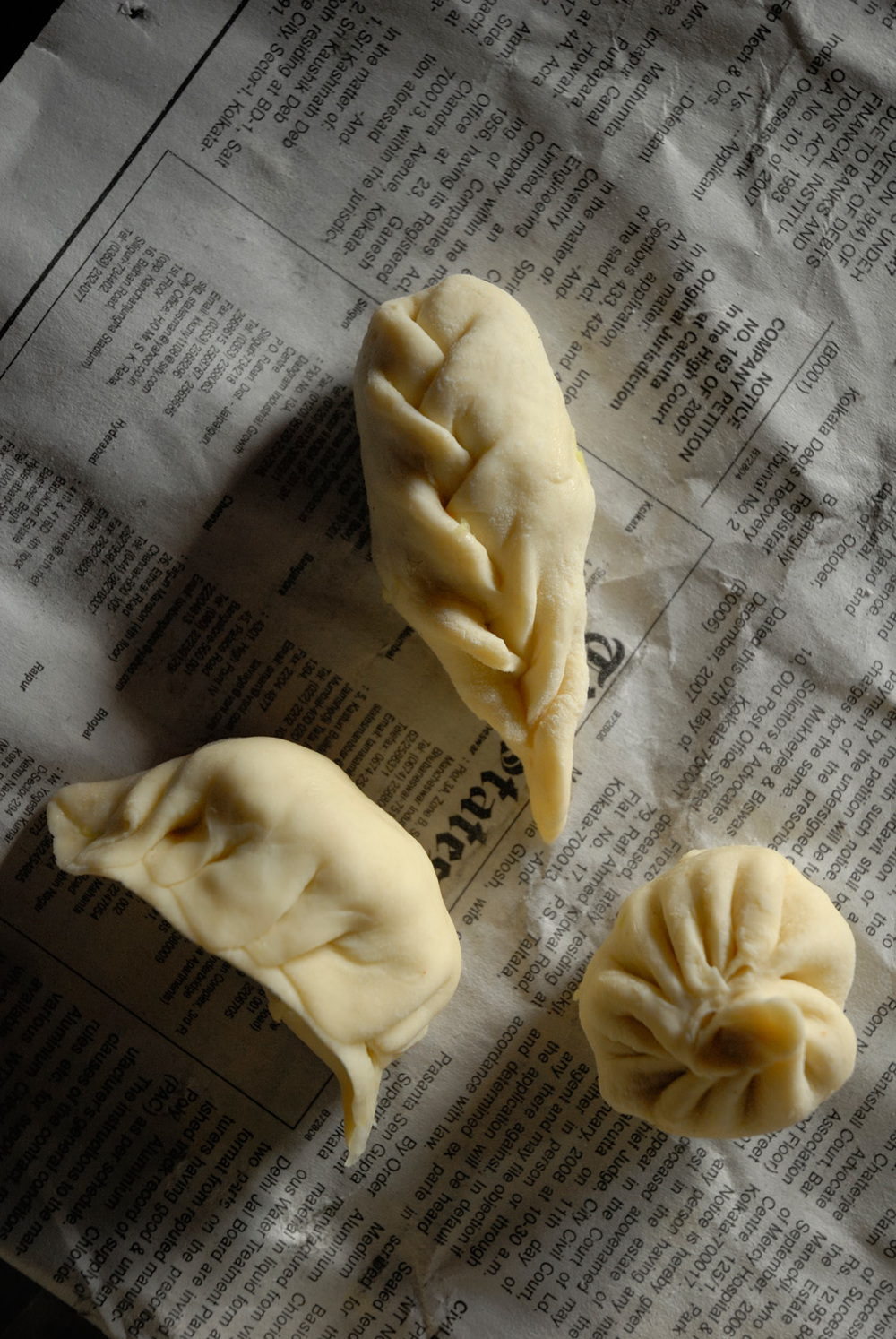 Dumplings in Darjeeling, India