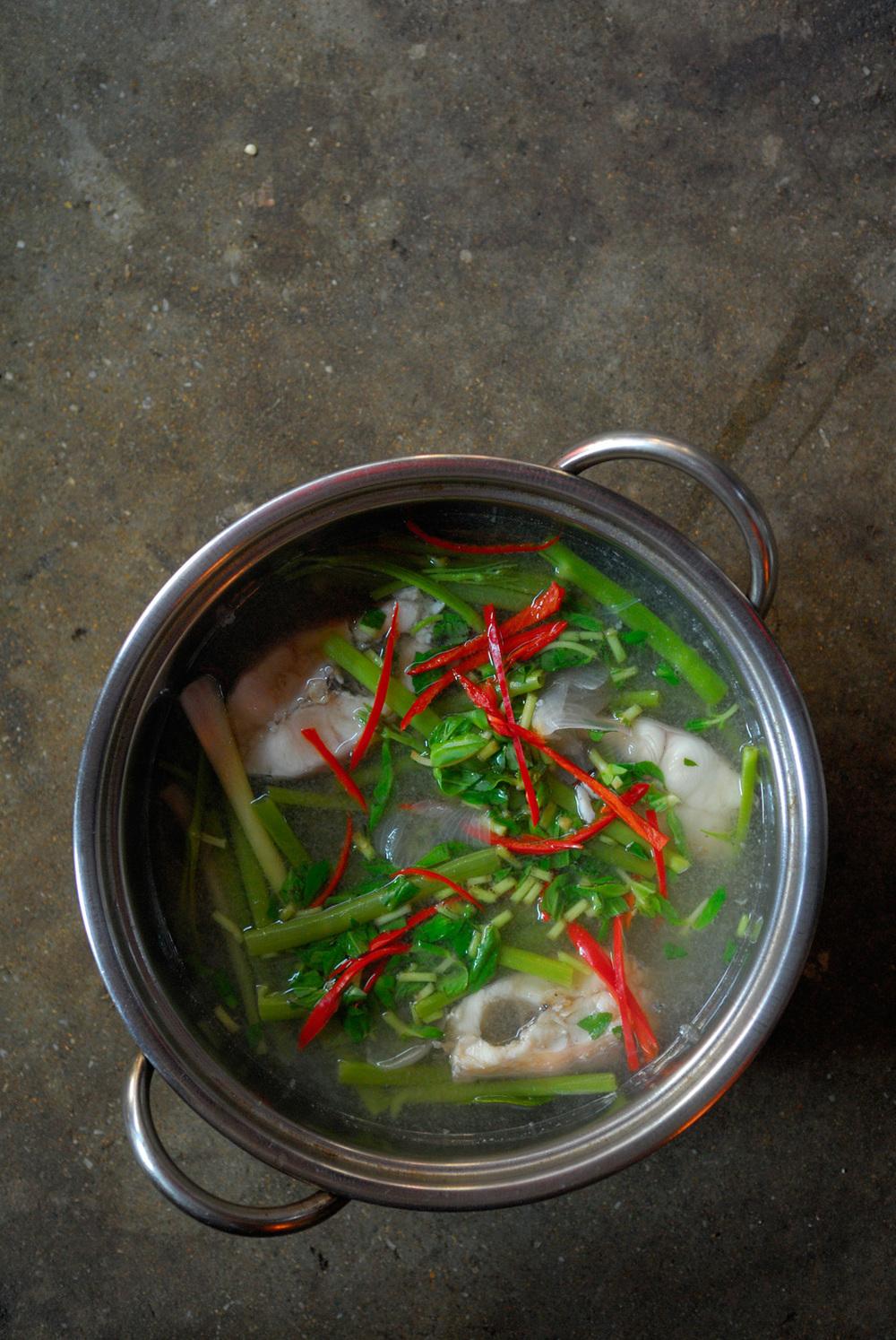 Cambodian sour soup, Phnom Penh